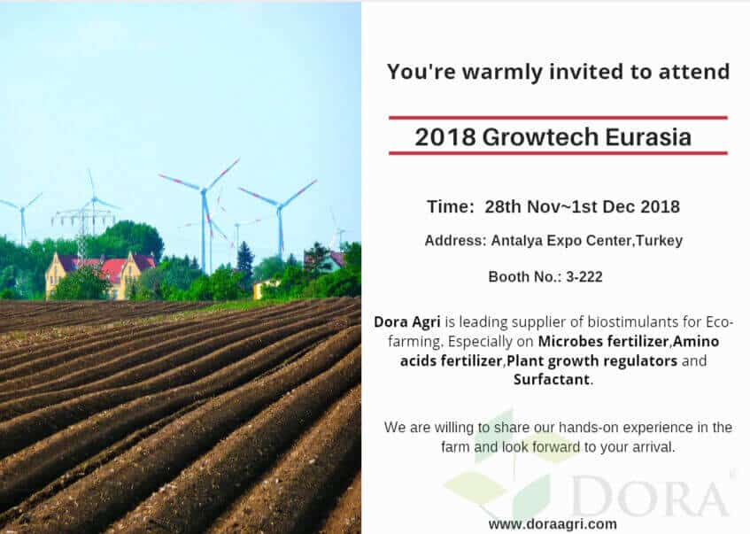 2018 growtech Eurasia